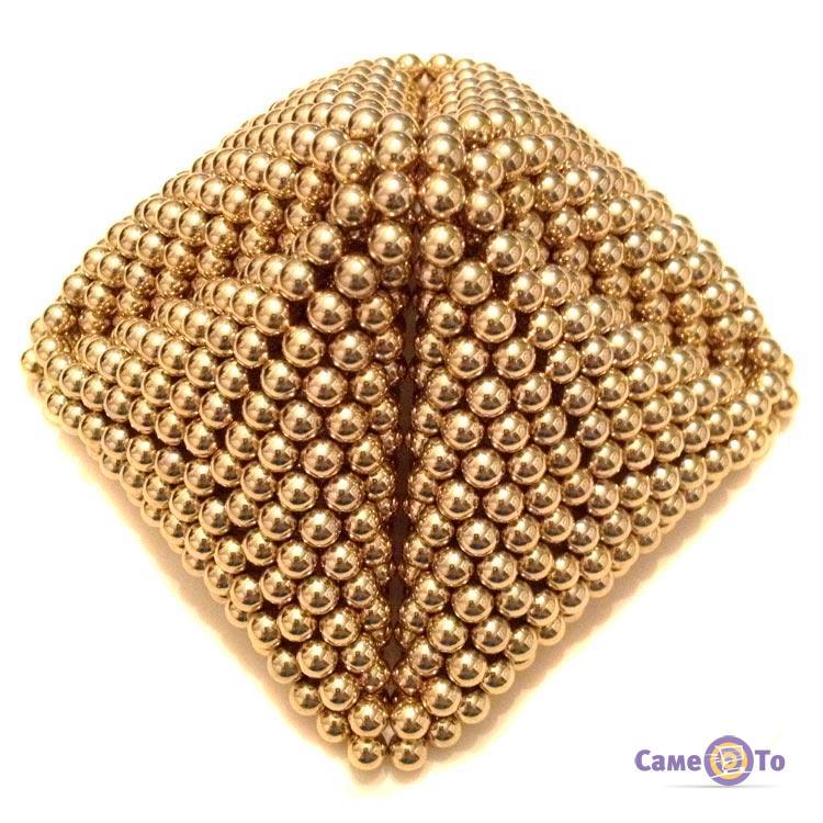 ... Неокуб 5 мм, neo cube, магнитные шарики, головоломка, цвет золото ... 2bdb12850a2