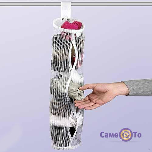 Подвесной органайзер для хранения носков Sock Keeper