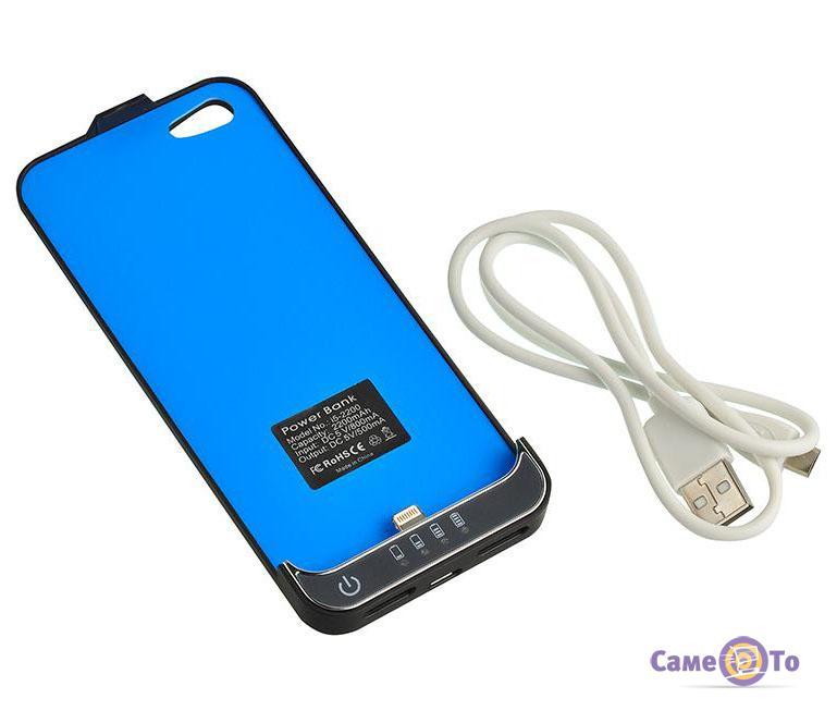Чехол-аккумуляторная батарея для IPhone 5