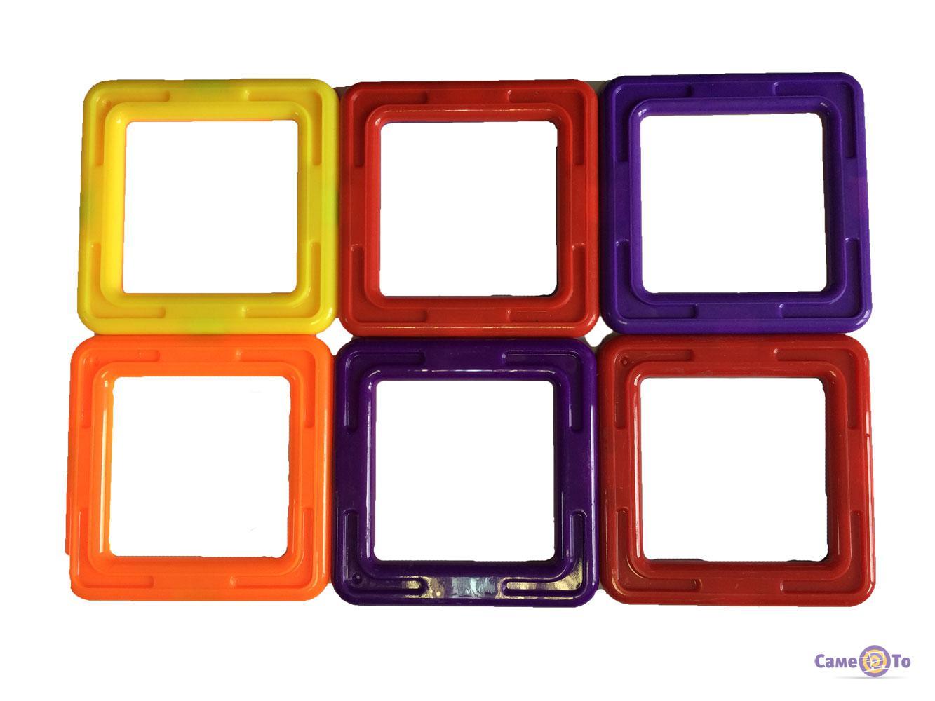 Магнитный конструктор для детей Mag-Puzzle 14 деталей