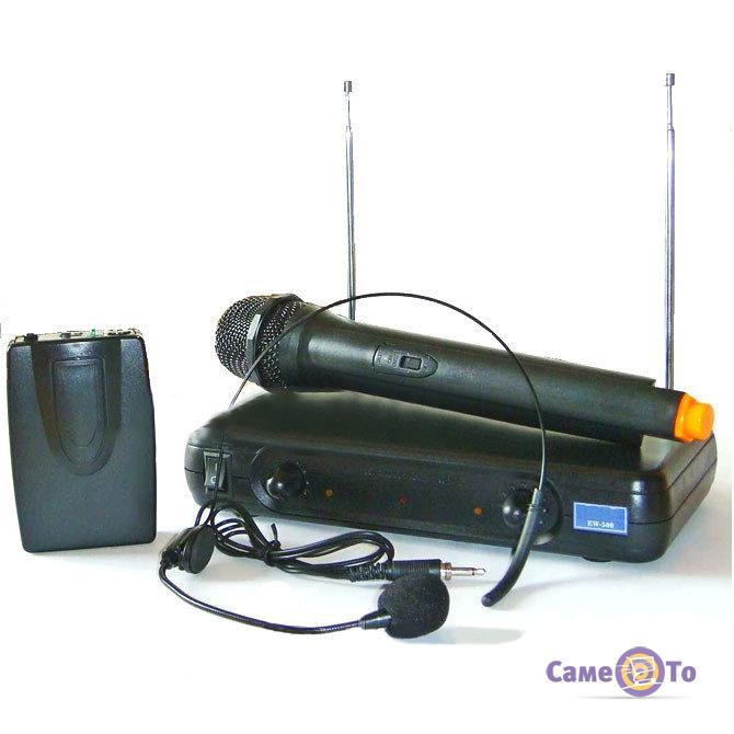 Вокальная радиосистема с микрофоном UKC EW 500