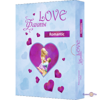 Настольная игра фанты-задания для взрослых Love Фанты Romantic