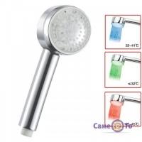 Светодиодная насадка для душа LED Shower (Романтика) с подсветкой