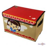 Розкладна коробка-органайзер для зберігання іграшок