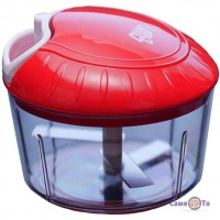 Кухонний ручний подрібнювач продуктів Crank Chop