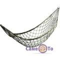 Плетений гамак сітка на кільцях JLK-9011 270х80 см