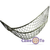Плетеный гамак сетка на кольцах JLK-9011 270х80 см