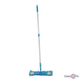 Швабра для підлоги з гнучкою телескопічною ручкою