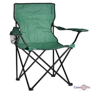Кемпінговий стілець з підсклянником