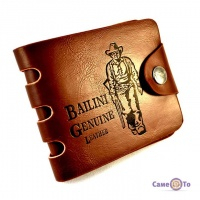 Мужское портмоне Bailini Genuine Leather
