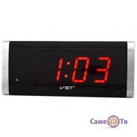 Настільний електронний годинник VST-730 з будильником