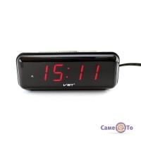 LED годинник VST 738 настільний з будильником