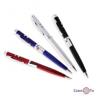 Лазерна ручка 3 в 1 з ліхтариком Pen Laser