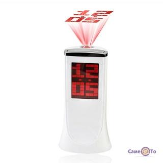 Настільний електронний годинник з проектором часу 1136A