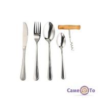 Набор столовых приборов Supretto на 6 персон - 25 предметов