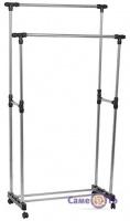 Двойная телескопическая стойка для одежды Double-Pole Clothes-horse TM-0032