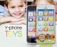 Детский мобильный телефон музыкальный Y-Phone