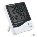 Электронный термометр гигрометр HTC-1