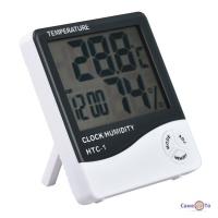 Електронний термометр гігрометр HTC-1