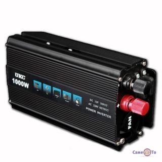 Інвертор UKC Inverter I-Power SSK 1000W перетворювач напруги