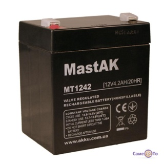 Аккумулятор мульти-гелиевый Mastak MT1242 12v/4,2Ah