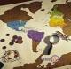 Скретч карта світу Travel Scratch Map Gold