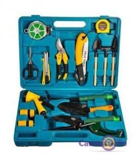 Набір садових інструментів 16 предметів в кейсі