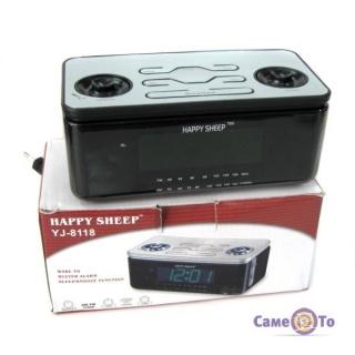 Часы-будильник с радио Happy Sheep YJ-8118