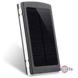 Портативная зарядка PowerBank Solar 25000 на солнечной батарее