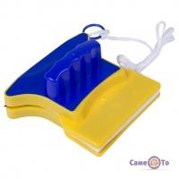 Магнітна щітка для двостороннього миття скла Double Sided Glass Cleaner
