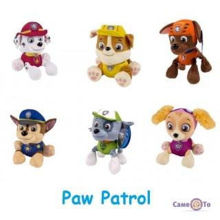 Набір м'яких іграшок Щенячий Патруль Paw Patrol (6 шт.)