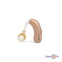 Заушный аккумуляторный слуховой аппарат с зарядным устройством Axon C-109