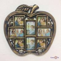 Мультирамка для фотографій Яблуко на 8 фото (70-12)