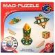 Магнітний 3D конструктор Mag-Puzzle 20 деталей