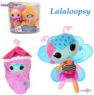 Лялька Лалалупсі Lalaloopsy для дівчаток з чохлом в комплекті