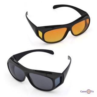 Противідблискуючі окуляри для водіїв HD Vision Wrap Arounds (день ніч) f6957e6d5fc1b