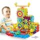 Детский развивающий 3D конструктор Magik Gears - Funny Bricks