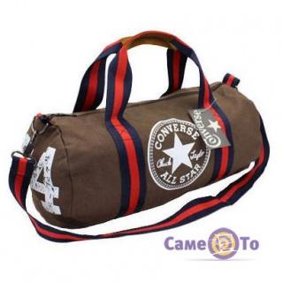 34cab22235eb Спортивная сумка-бочонок Converse All Star Конверс купить в интернет ...