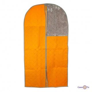 Підвісний чохол на блискавці для зберігання одягу 110x57 см.
