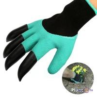 Гумові садові рукавички з кігтями Garden Genie Gloves (Гарден Джені Гловес)