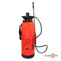 Ручной садовый помповый опрыскиватель для сада и огорода Pressure Sprayer 10 л.