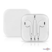 Навушники-гарнітура для телефону з мікрофоном EarPods (Сopy)