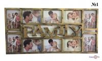 Декоративна мультирамка для сімейних фото Family (23)