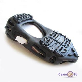 Ледоступы-накладка на подошву обуви BlackSpur на 24 шипа