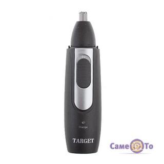 Аккумуляторный электрический триммер для носа, ушей и бороды Target 2 в 1 TG-2011