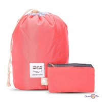 Похідна дорожня сумка-косметичка 2 в 1 Travel Dresser Pouch