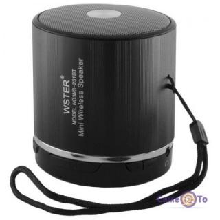 Портативная беспроводная mp3 колонка для телефона с USB SPS WS 231 BT
