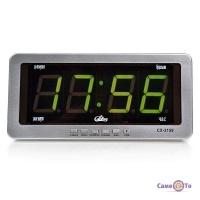 Автомобильные электронные настенно-настольные светодиодные часы Caixing CX-2159