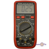 Електричний тестер напруги мультиметр  DT VC 61A