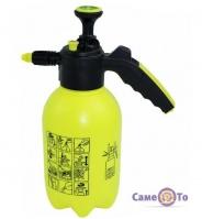Ручной гидравлический опрыскиватель с помпой на 2 литра